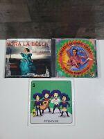 WORLD MUSIC LOT OF 3, NPRA LA BELLA,  MULTI-COLOR CHART, FITEHOUSE BRAND NEW.