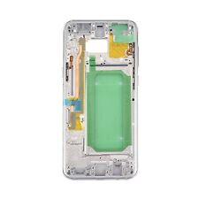 Cornice CENTRALE CORNICE FOTOCAMERA chassis di vetro per Samsung Galaxy s8 PLUS g955f ARGENTO