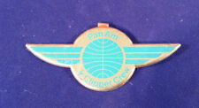 VTG Pan Am Airlines Junior Clipper Stewardess Pin Badge Wing~Airplane~Aviation