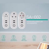 WiFi Wireless Smart Power Socket Remote Control Home Timer Smart Switch Outlet