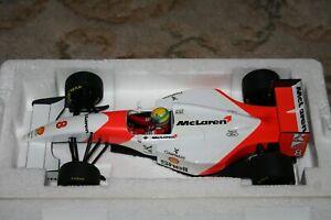 MINICHAMPS 1/18 FORD MCLAREN MP4/8 AYRTON SENNA 1993 F1 FORMULA 1 RACING CAR