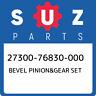 27300-76830-000 Suzuki Bevel pinion&gear set 2730076830000, New Genuine OEM Part