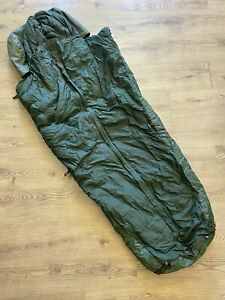 British Army 58 Pattern Down Filled Sleeping Bag Used Condition Require Repairs