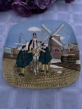 Royal Doulton Christmas in Holland plate John Beswick Limited 4951 of 15000