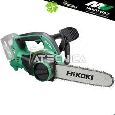Motosega elettrosega a batteria Hitachi Hikoki CS363DA 36V con lama Oregon 300mm
