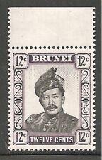 Album Treasures Brunei Scott # 108  12c  Sultan Saifuddin Mint NH