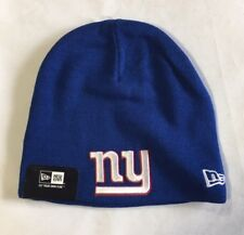 New York Giants Knit Beanie Winter Hat Toque Skull Cap NEW Blue Very Nice w/ tag