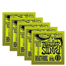 Ernie Ball electric guitar strings 10 gauge ( 5 sets )