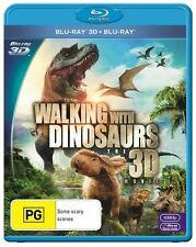 Walking With Dinosaurs 3D (Blu-ray, 2014) Ex rental