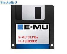 EMU EOS Flashprep Supplied On Floppy Disk - E-MU ULTRA Sampler