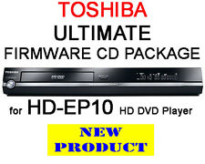 Region free & V4.0 Firmware CD Pack pour Toshiba HD-EP10 HD DVD Player