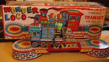 Beauty toys Delhi Inde Train circuit mécanique train locomotive  en boite 1987