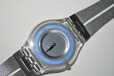 2001 Vintage Swatch SKIN Watch SFK-138M LITTLE WHILE  Free Shipping Free Battery