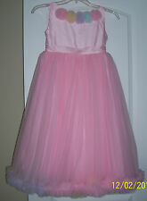 NWT Oopsy Daisy Baby Girls Pink Pettiskirt Dress Girls  9-10