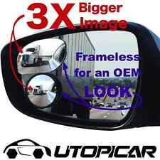 Utopicar Frameless Stick-on Blind Spot Car Mirrors (2 Pack)