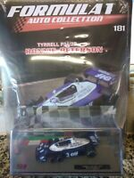 TYRRELL P34/2B RONNIE PETERSON 1977 FORMULA 1 AUTO C.  #181 1:43 DIE-CAST MIB