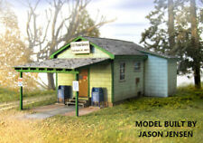 HO Scale Fort Davis Post Office Structure Kit by Showcase Miniatures (2011)