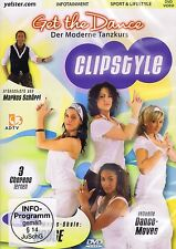 DVD NEU/OVP - Get The Dance - Clipstyle - Vol. 4 - House
