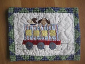 Pottery Barn Kids Quilted Bedding Pillow Sham For Crib Toddler Bed