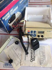 Ranger RCI-6500 VHF Mobile MARINE Transceiver VHF Radio Telephone Weather - USED