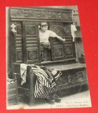 CPA CARTE POSTALE 1920-1930 LIT CLOS MOBILIER BRETON BRETAGNE BREIZH BRETONNE