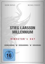 Stieg Larsson  Millenium Trilogie  3 DVD Box (NEU DVD OVP)  alle 3 Filme Dir.Cut