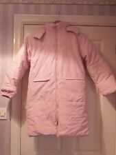 Peacocks extra soft and warm autumn winter parka coat with hood 8 9 y o