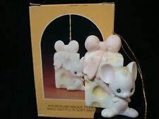 Precious Moments *Rare* Mouse With Cheese Ornament-$115V