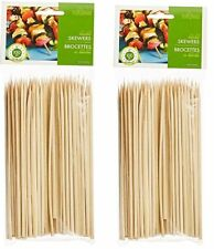 Fox Run Bamboo Skewers, 6-Inch, 2-Pack (5476)