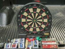 USED HALEX ELECTRONIC DARTBOARD WITH A LOT OF NEW ACCESSORIES
