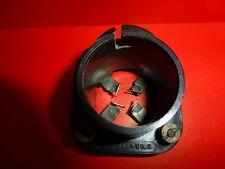 "Vintage""MAZDA RADIO""surface mount black Bakelite SOCKET for 4 pins+side pin tube"