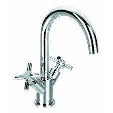 STOCK CLEARANCE Flova XL 2 Handle Basin Mixer Tap & Clicker Waste XLBAS RRP £127
