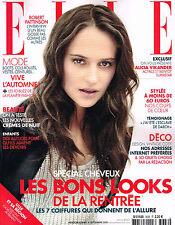 ELLE France 4 September 2015 ALICIA VIKANDER Sabrina Loffreda DALIA GUNTHER @New