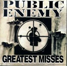 Greatest Misses - Public Enemy (1995, CD NIEUW)