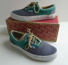 Vans Era California Limited Edition Skate Shoes Grey Green Leather laces UK 7