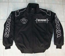 NEU SCANIA V8 King of the Road Mod. 2 Fan-Jacke schwarz jacket veste jas giacca