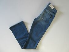 NWT 7 For All Mankind 'A' Pocket in Red Cast Heritage Stretch Flare Jean 26 x 34