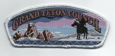1999 Grand Teton (Idaho) Council (SA-36) CSP, Plastic Back, Mint!