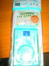 Earth Therapeutics Recover-E Cucumber Eye Care Kit in Reusable Storage Case NEW