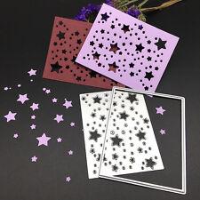 Rectangle Stars Metal Cutting Dies Stencil Scrapbooking Card Embossing Craft DIY