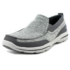 Calzado de hombre mocasines color principal gris de lona