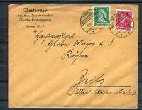 DR Beleg 5+10 Pfg. MiF Stempel Tauberbischofsheim - b4357
