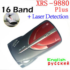 360°Car 16-Band GPS Laser Detection Function Voice Alert Radar Detector XRS 9880