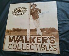 Jerry Jeff Walker - Walker's Collectible Album SIGNED AUTOGRAPHED AUTOGRAPH