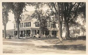 H41/ Raymond Maine RPPC Postcard c1910 The Elm Tree Inn 4
