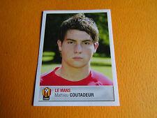N°87 COUTADEUR  LE MANS MUC  PANINI FOOTBALL FOOT 2007 2006-2007