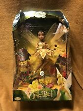 "Disney Fairies Iridessa Light Fairy 10"" Porcelain Doll Collector Black BB"