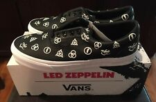 f002196b48 Vans X Led Zeppelin Era 50th Kiss Metallica Slayer Iron Maiden Shoes US 10