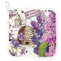 Michel Design Works Potholder - Lilac & Violets