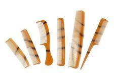 6PC Set Pettine per capelli Per capelli Styling pettine Set Stilista Nero combingbrush BA